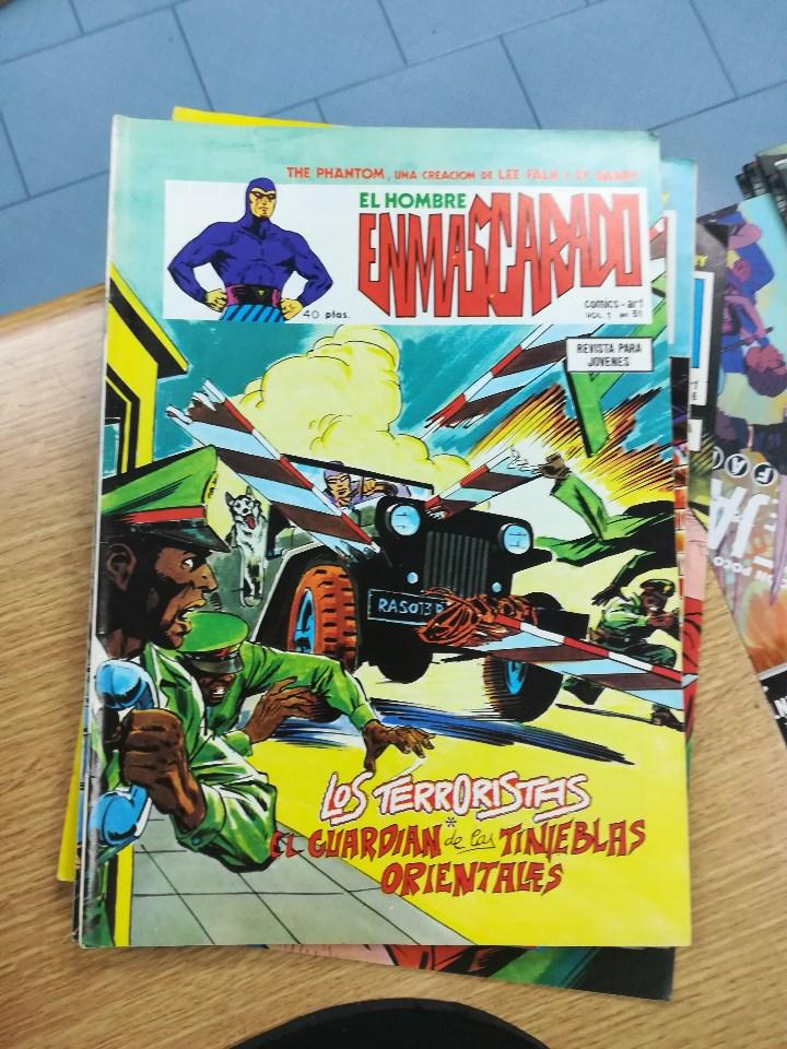 Tebeos: EL HOMBRE ENMASCARADO VOL 1 (VERTICE) COLECCION COMPLETA (56 NUMEROS) - Foto 54 - 103953295