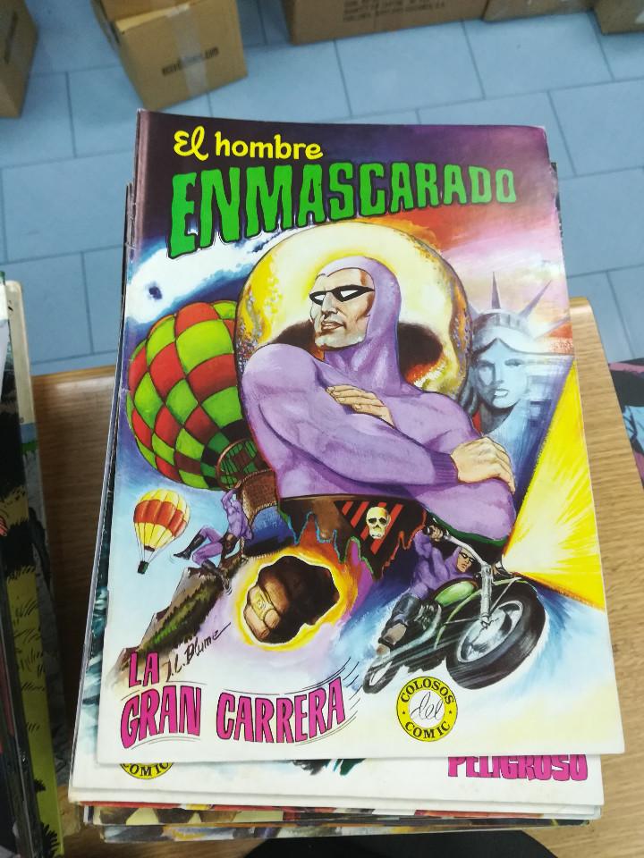 Tebeos: EL HOMBRE ENMASCARADO (EDITORIAL VALENCIANA) COLECCION COMPLETA (52 NUMEROS) - Foto 3 - 103964787