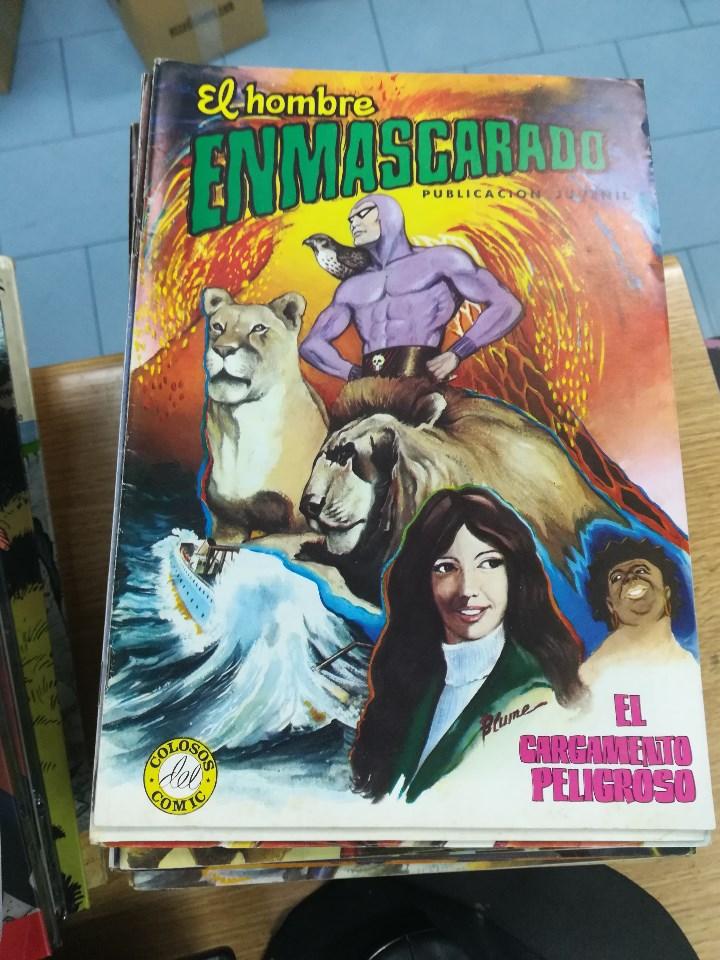 Tebeos: EL HOMBRE ENMASCARADO (EDITORIAL VALENCIANA) COLECCION COMPLETA (52 NUMEROS) - Foto 7 - 103964787