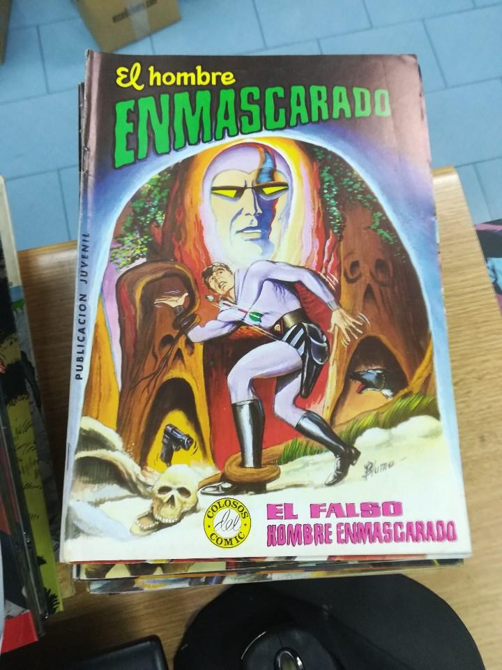 Tebeos: EL HOMBRE ENMASCARADO (EDITORIAL VALENCIANA) COLECCION COMPLETA (52 NUMEROS) - Foto 8 - 103964787
