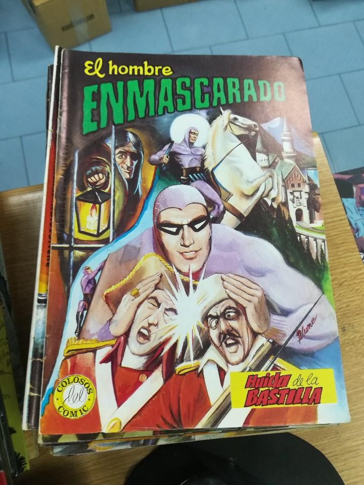 Tebeos: EL HOMBRE ENMASCARADO (EDITORIAL VALENCIANA) COLECCION COMPLETA (52 NUMEROS) - Foto 9 - 103964787