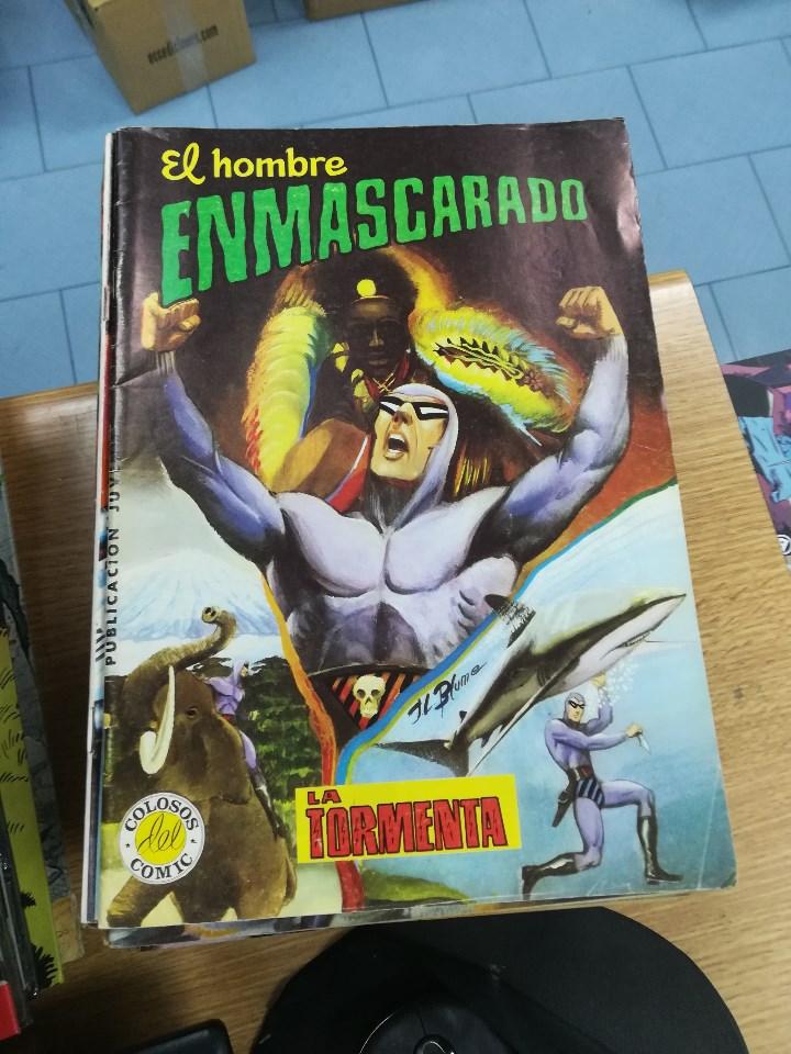 Tebeos: EL HOMBRE ENMASCARADO (EDITORIAL VALENCIANA) COLECCION COMPLETA (52 NUMEROS) - Foto 12 - 103964787