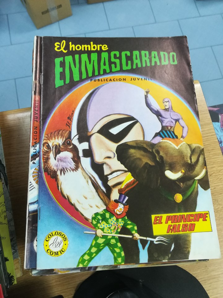 Tebeos: EL HOMBRE ENMASCARADO (EDITORIAL VALENCIANA) COLECCION COMPLETA (52 NUMEROS) - Foto 13 - 103964787