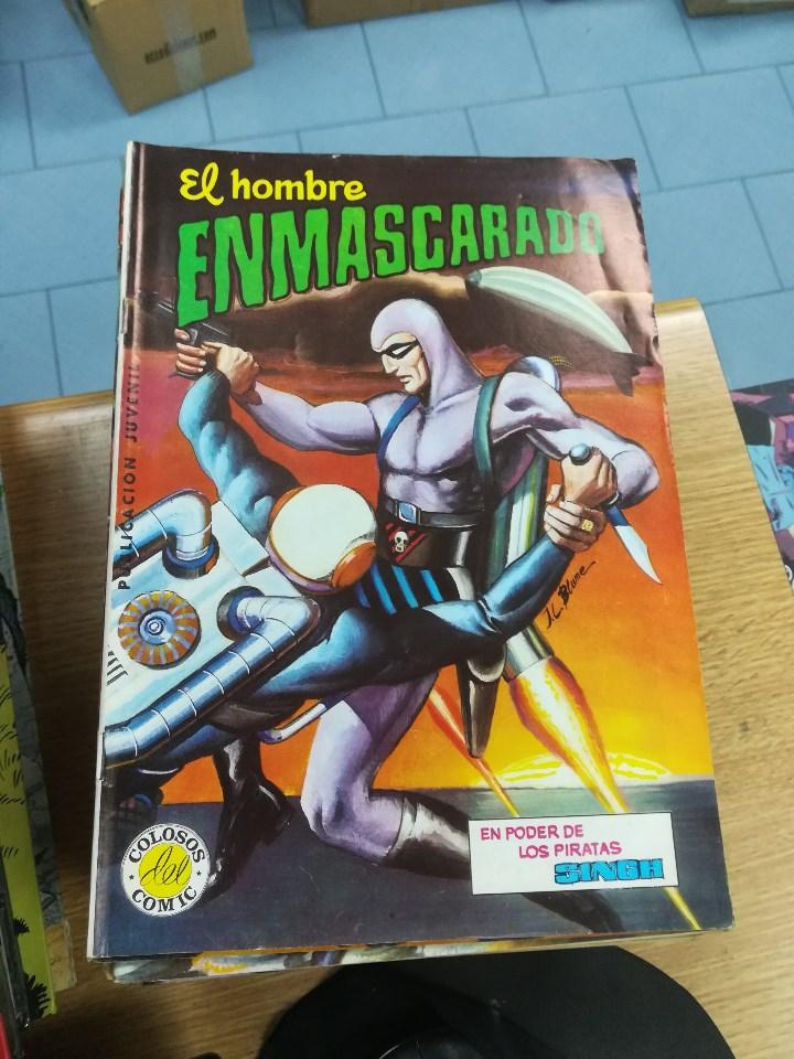 Tebeos: EL HOMBRE ENMASCARADO (EDITORIAL VALENCIANA) COLECCION COMPLETA (52 NUMEROS) - Foto 14 - 103964787