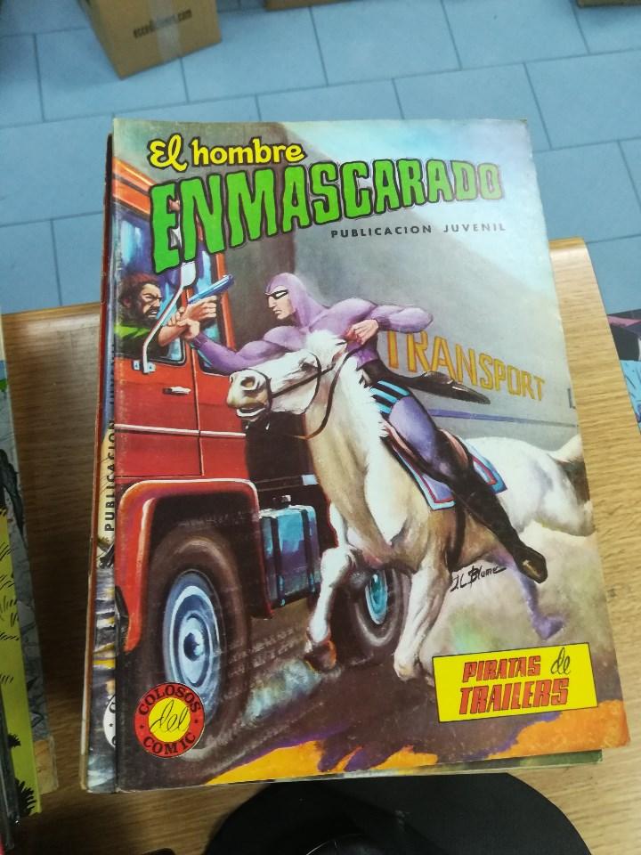 Tebeos: EL HOMBRE ENMASCARADO (EDITORIAL VALENCIANA) COLECCION COMPLETA (52 NUMEROS) - Foto 15 - 103964787