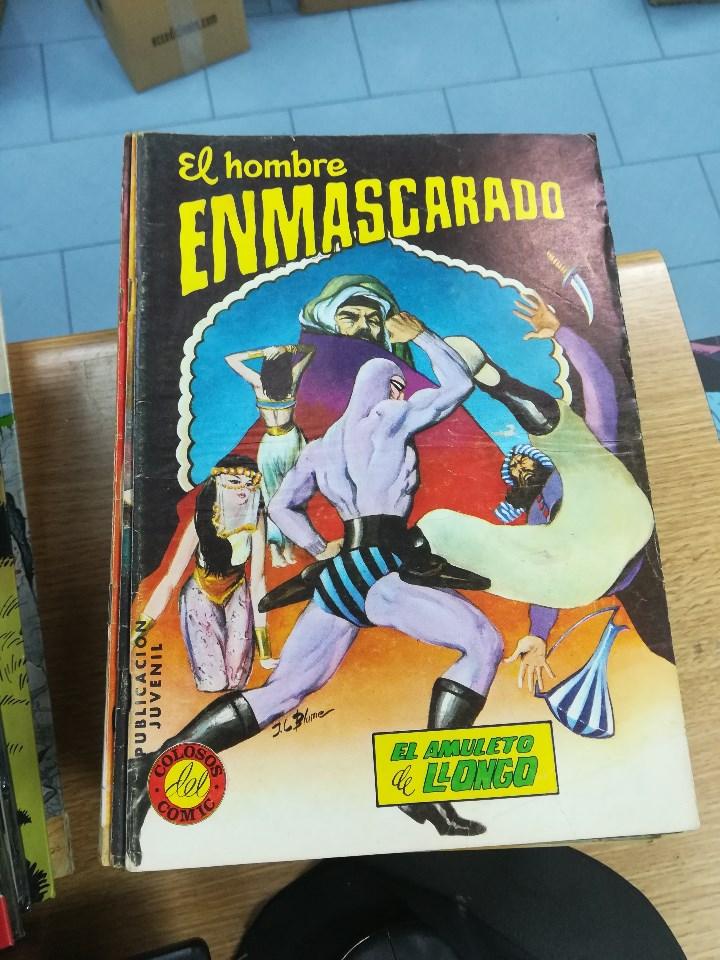 Tebeos: EL HOMBRE ENMASCARADO (EDITORIAL VALENCIANA) COLECCION COMPLETA (52 NUMEROS) - Foto 17 - 103964787