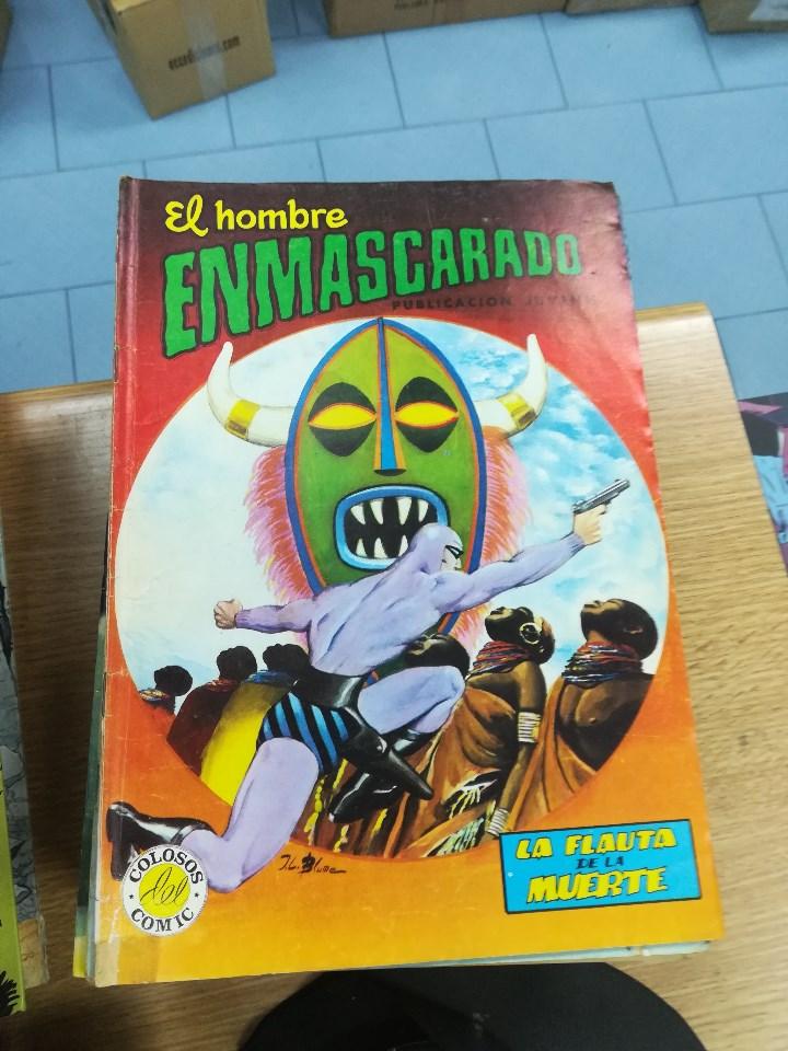 Tebeos: EL HOMBRE ENMASCARADO (EDITORIAL VALENCIANA) COLECCION COMPLETA (52 NUMEROS) - Foto 19 - 103964787