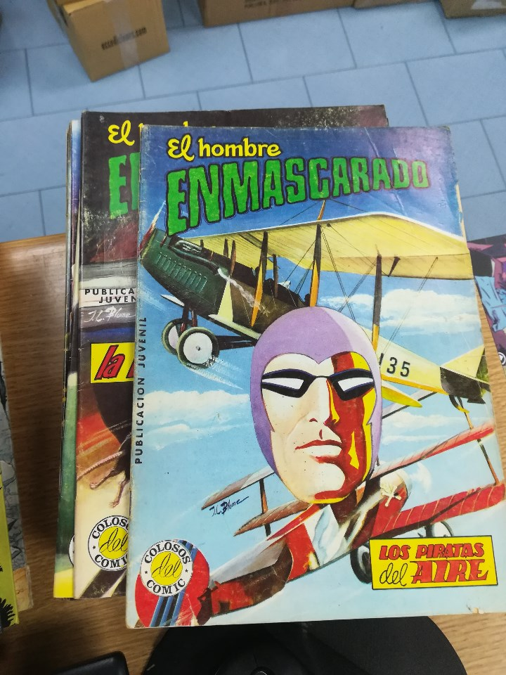 Tebeos: EL HOMBRE ENMASCARADO (EDITORIAL VALENCIANA) COLECCION COMPLETA (52 NUMEROS) - Foto 20 - 103964787