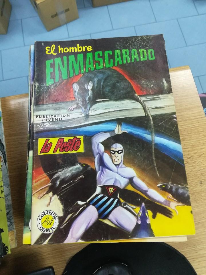 Tebeos: EL HOMBRE ENMASCARADO (EDITORIAL VALENCIANA) COLECCION COMPLETA (52 NUMEROS) - Foto 21 - 103964787