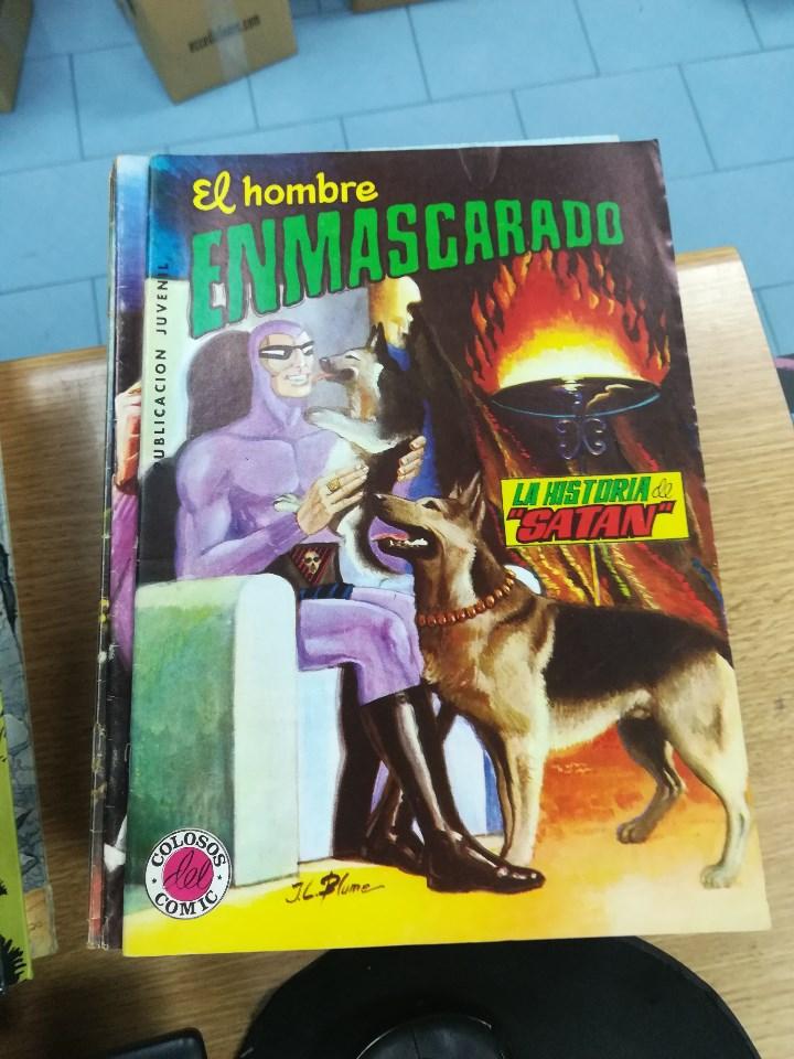 Tebeos: EL HOMBRE ENMASCARADO (EDITORIAL VALENCIANA) COLECCION COMPLETA (52 NUMEROS) - Foto 22 - 103964787
