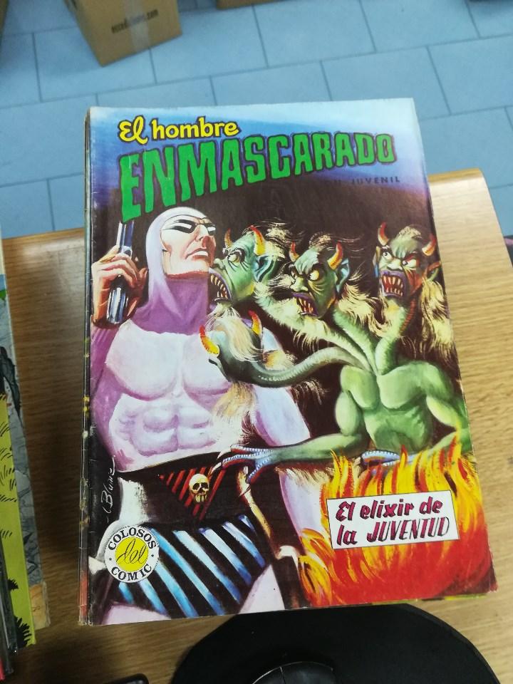 Tebeos: EL HOMBRE ENMASCARADO (EDITORIAL VALENCIANA) COLECCION COMPLETA (52 NUMEROS) - Foto 23 - 103964787
