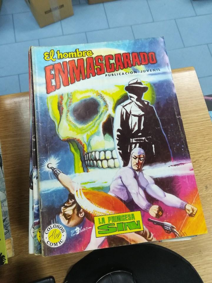 Tebeos: EL HOMBRE ENMASCARADO (EDITORIAL VALENCIANA) COLECCION COMPLETA (52 NUMEROS) - Foto 26 - 103964787