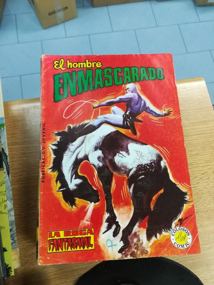 Tebeos: EL HOMBRE ENMASCARADO (EDITORIAL VALENCIANA) COLECCION COMPLETA (52 NUMEROS) - Foto 29 - 103964787