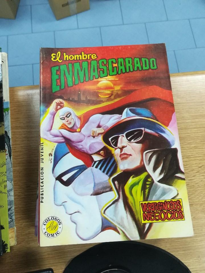 Tebeos: EL HOMBRE ENMASCARADO (EDITORIAL VALENCIANA) COLECCION COMPLETA (52 NUMEROS) - Foto 32 - 103964787
