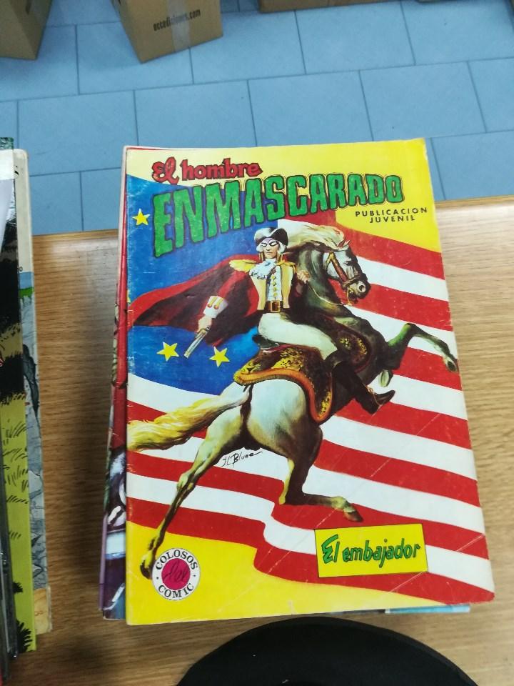 Tebeos: EL HOMBRE ENMASCARADO (EDITORIAL VALENCIANA) COLECCION COMPLETA (52 NUMEROS) - Foto 37 - 103964787