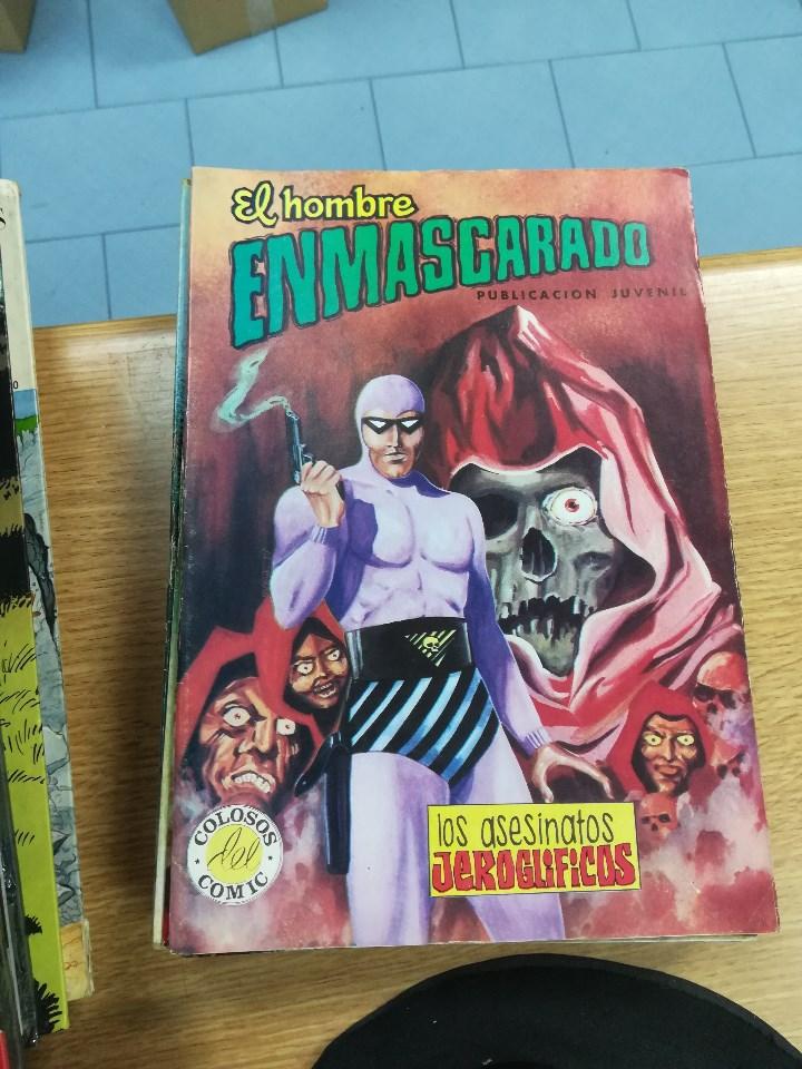 Tebeos: EL HOMBRE ENMASCARADO (EDITORIAL VALENCIANA) COLECCION COMPLETA (52 NUMEROS) - Foto 40 - 103964787