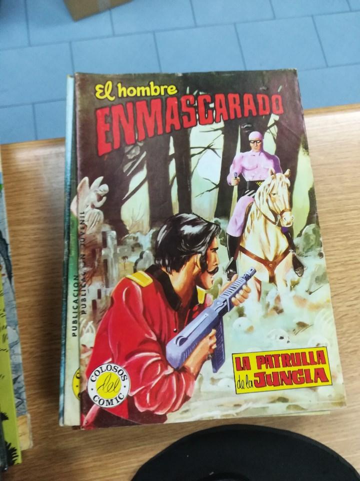 Tebeos: EL HOMBRE ENMASCARADO (EDITORIAL VALENCIANA) COLECCION COMPLETA (52 NUMEROS) - Foto 41 - 103964787