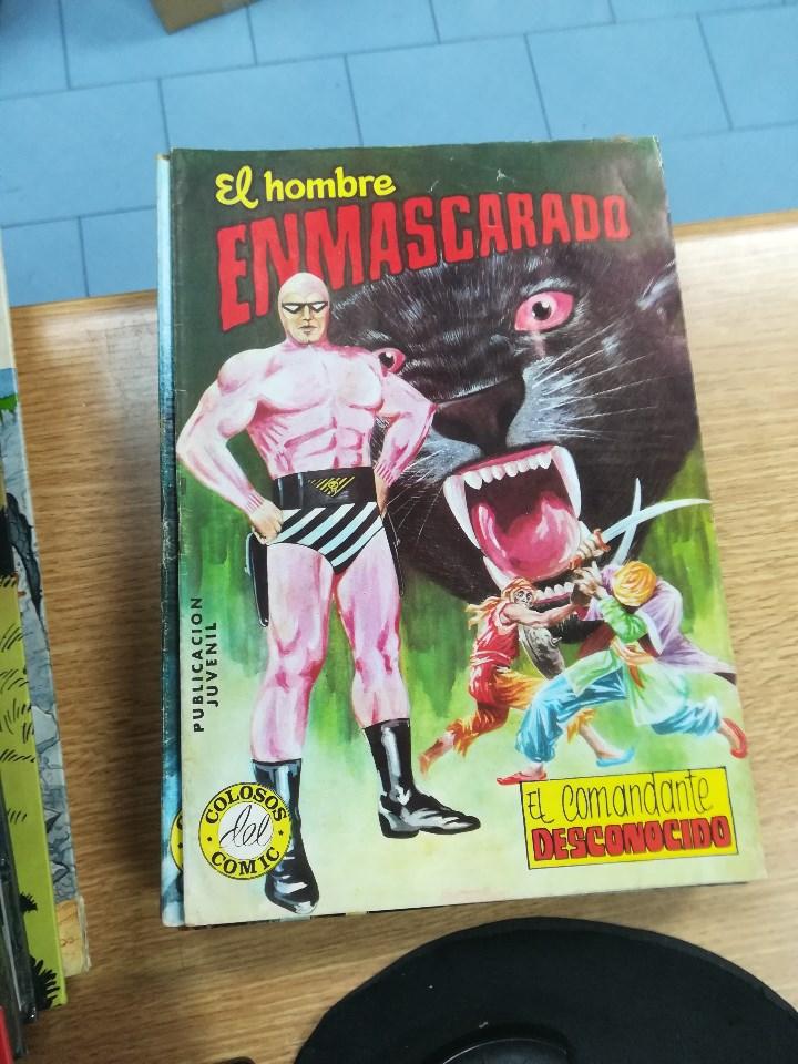 Tebeos: EL HOMBRE ENMASCARADO (EDITORIAL VALENCIANA) COLECCION COMPLETA (52 NUMEROS) - Foto 42 - 103964787