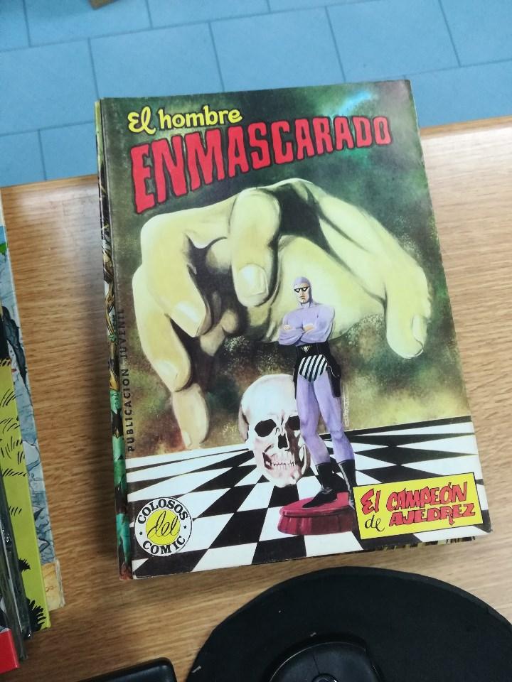 Tebeos: EL HOMBRE ENMASCARADO (EDITORIAL VALENCIANA) COLECCION COMPLETA (52 NUMEROS) - Foto 45 - 103964787