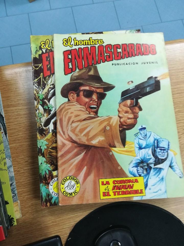 Tebeos: EL HOMBRE ENMASCARADO (EDITORIAL VALENCIANA) COLECCION COMPLETA (52 NUMEROS) - Foto 46 - 103964787