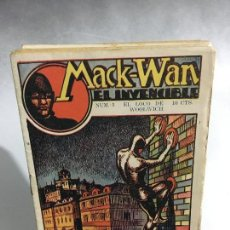 Tebeos: COMICS MACK-WAN EL INVENCIBLE COLECCION . Lote 103982131