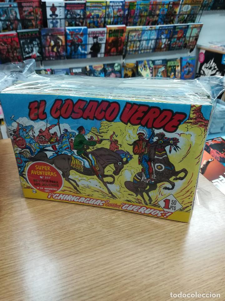 EL COSACO VERDE (EDICIONES B) FACSIMIL COLECCION COMPLETA (144 NUMEROS) (Tebeos y Comics - Tebeos Colecciones y Lotes Avanzados)