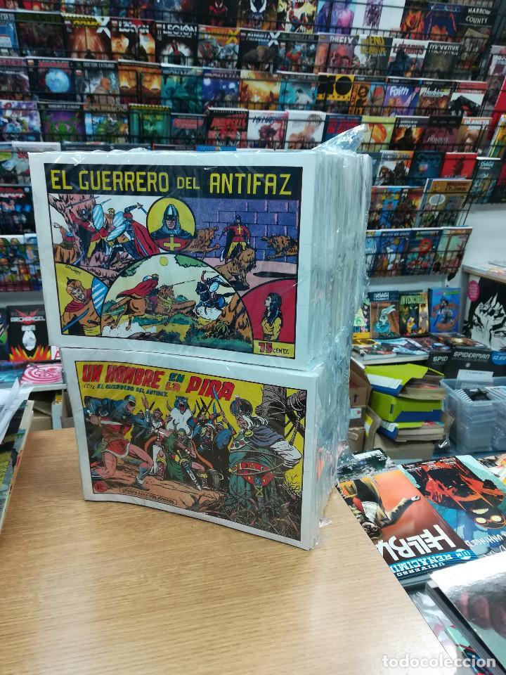 EL GUERRERO DEL ANTIFAZ (VALENCIANA) FACSIMIL COLECCION COMPLETA (668 NUMEROS) (Tebeos y Comics - Tebeos Colecciones y Lotes Avanzados)
