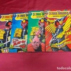 Livros de Banda Desenhada: JUDGE DRED'S. ARCHIVO DEL CRIMEN. COMPLETA. 4 TOMOS . EDICIONES ZINCO.. Lote 104380131