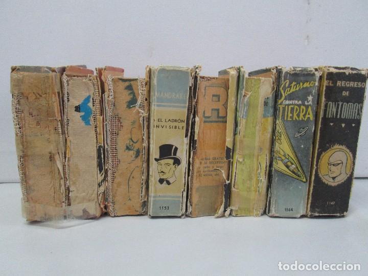 Tebeos: 8 PEQUEÑOS GRANDES LIBROS. EDITORIAL ABRIL. MANDRAKE, BUCK ROGERS, SATURNO, AMAZONA, FAROLITO.... - Foto 2 - 104629415