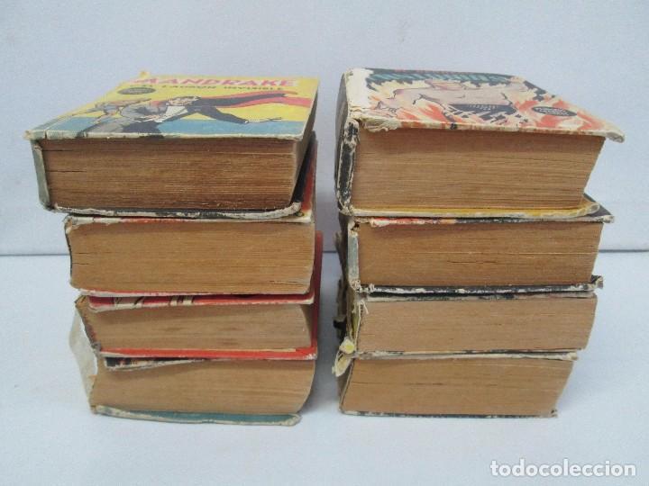 Tebeos: 8 PEQUEÑOS GRANDES LIBROS. EDITORIAL ABRIL. MANDRAKE, BUCK ROGERS, SATURNO, AMAZONA, FAROLITO.... - Foto 5 - 104629415