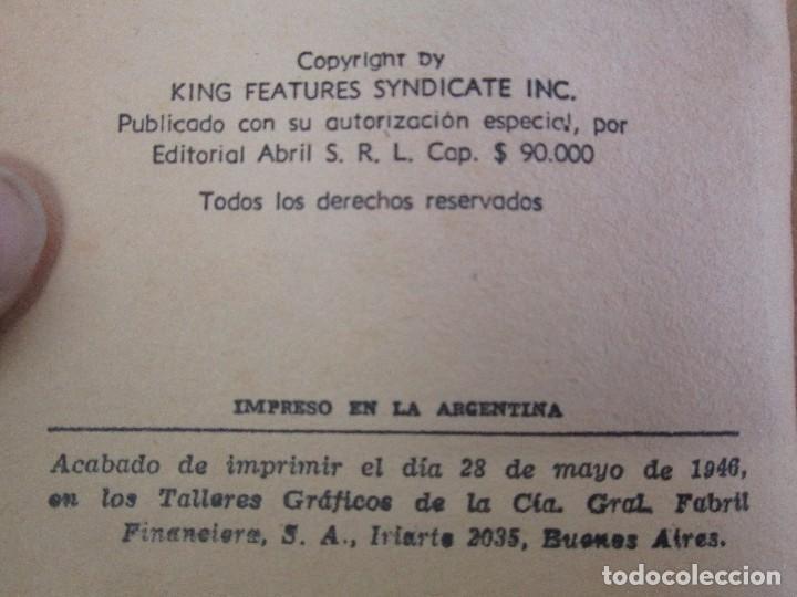 Tebeos: 8 PEQUEÑOS GRANDES LIBROS. EDITORIAL ABRIL. MANDRAKE, BUCK ROGERS, SATURNO, AMAZONA, FAROLITO.... - Foto 8 - 104629415