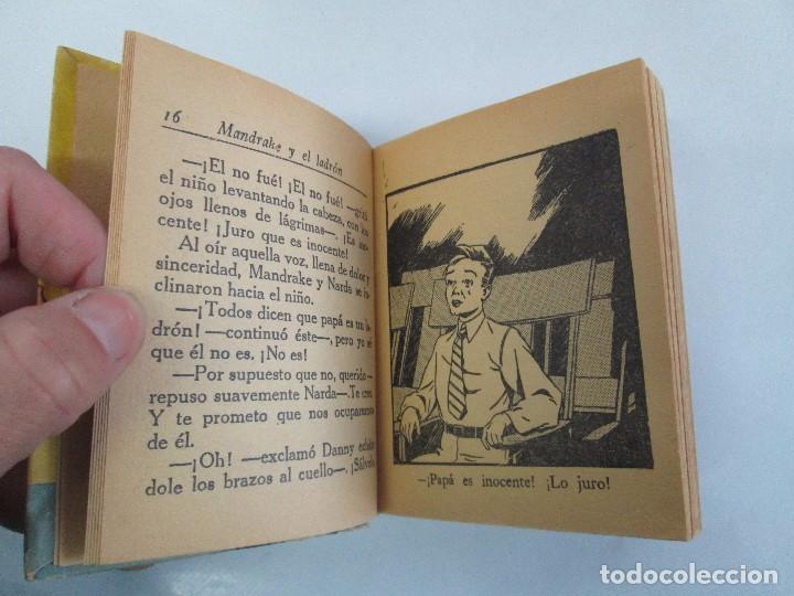 Tebeos: 8 PEQUEÑOS GRANDES LIBROS. EDITORIAL ABRIL. MANDRAKE, BUCK ROGERS, SATURNO, AMAZONA, FAROLITO.... - Foto 10 - 104629415