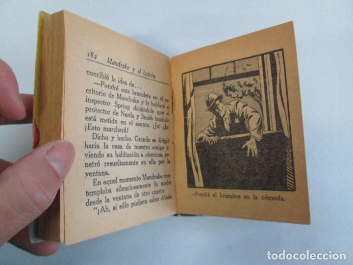 Tebeos: 8 PEQUEÑOS GRANDES LIBROS. EDITORIAL ABRIL. MANDRAKE, BUCK ROGERS, SATURNO, AMAZONA, FAROLITO.... - Foto 12 - 104629415