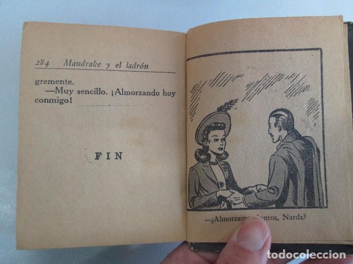 Tebeos: 8 PEQUEÑOS GRANDES LIBROS. EDITORIAL ABRIL. MANDRAKE, BUCK ROGERS, SATURNO, AMAZONA, FAROLITO.... - Foto 13 - 104629415