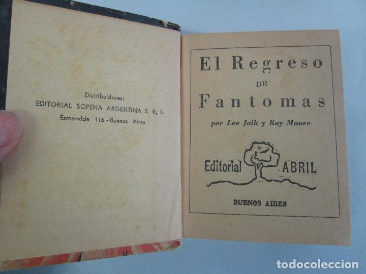 Tebeos: 8 PEQUEÑOS GRANDES LIBROS. EDITORIAL ABRIL. MANDRAKE, BUCK ROGERS, SATURNO, AMAZONA, FAROLITO.... - Foto 16 - 104629415