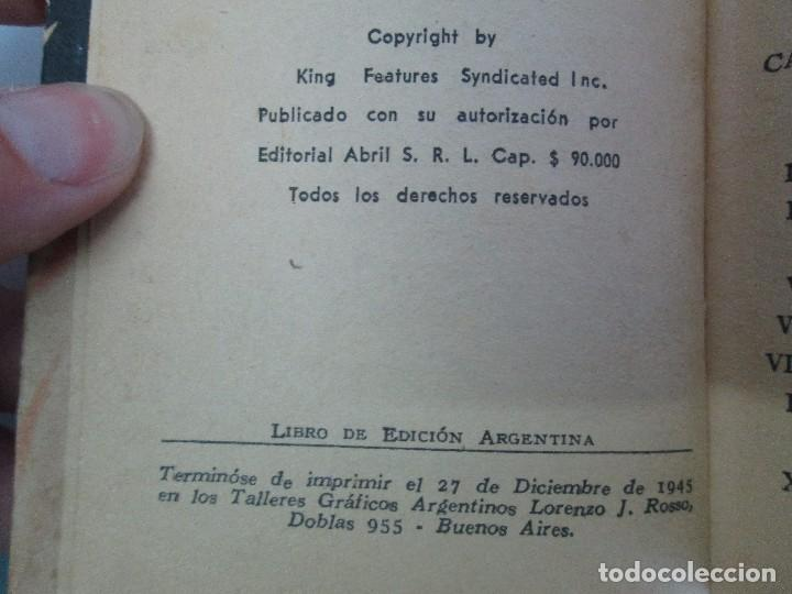 Tebeos: 8 PEQUEÑOS GRANDES LIBROS. EDITORIAL ABRIL. MANDRAKE, BUCK ROGERS, SATURNO, AMAZONA, FAROLITO.... - Foto 17 - 104629415