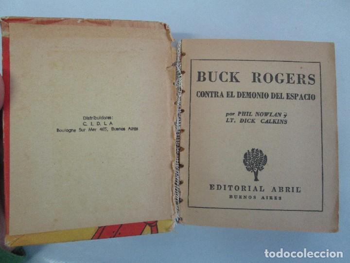 Tebeos: 8 PEQUEÑOS GRANDES LIBROS. EDITORIAL ABRIL. MANDRAKE, BUCK ROGERS, SATURNO, AMAZONA, FAROLITO.... - Foto 24 - 104629415