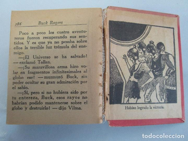 Tebeos: 8 PEQUEÑOS GRANDES LIBROS. EDITORIAL ABRIL. MANDRAKE, BUCK ROGERS, SATURNO, AMAZONA, FAROLITO.... - Foto 30 - 104629415