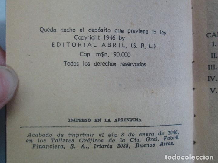 Tebeos: 8 PEQUEÑOS GRANDES LIBROS. EDITORIAL ABRIL. MANDRAKE, BUCK ROGERS, SATURNO, AMAZONA, FAROLITO.... - Foto 34 - 104629415