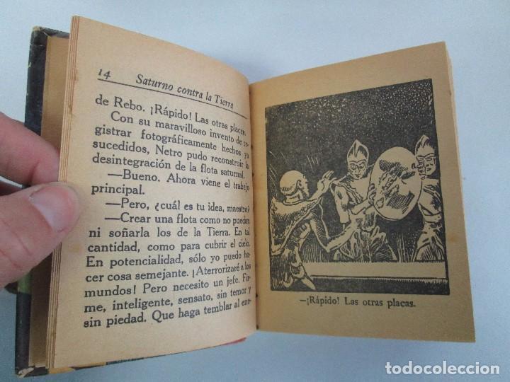 Tebeos: 8 PEQUEÑOS GRANDES LIBROS. EDITORIAL ABRIL. MANDRAKE, BUCK ROGERS, SATURNO, AMAZONA, FAROLITO.... - Foto 36 - 104629415