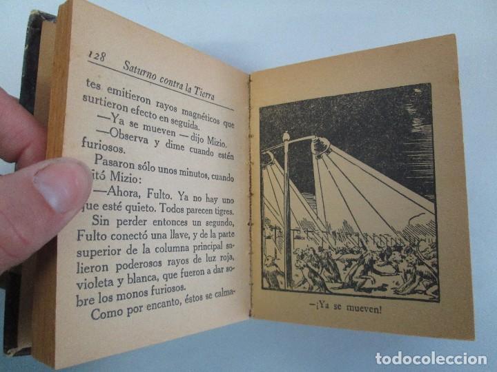 Tebeos: 8 PEQUEÑOS GRANDES LIBROS. EDITORIAL ABRIL. MANDRAKE, BUCK ROGERS, SATURNO, AMAZONA, FAROLITO.... - Foto 37 - 104629415
