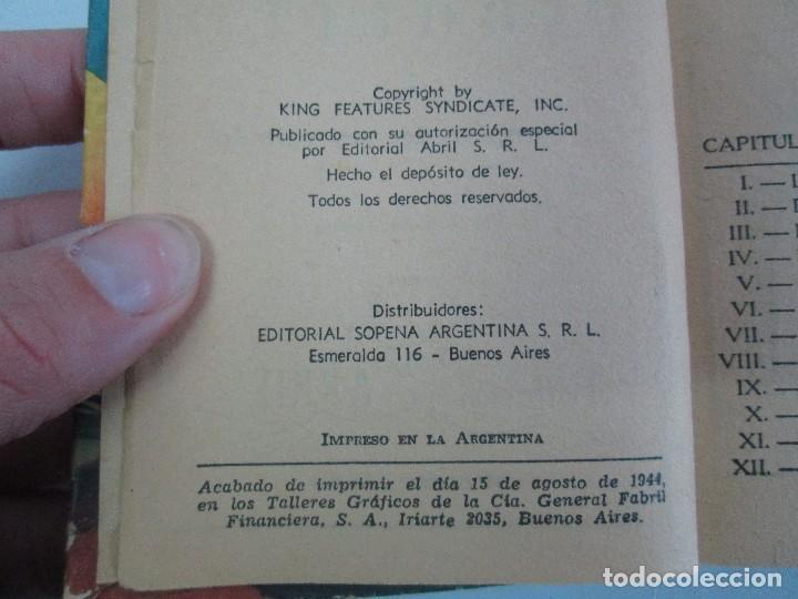 Tebeos: 8 PEQUEÑOS GRANDES LIBROS. EDITORIAL ABRIL. MANDRAKE, BUCK ROGERS, SATURNO, AMAZONA, FAROLITO.... - Foto 43 - 104629415