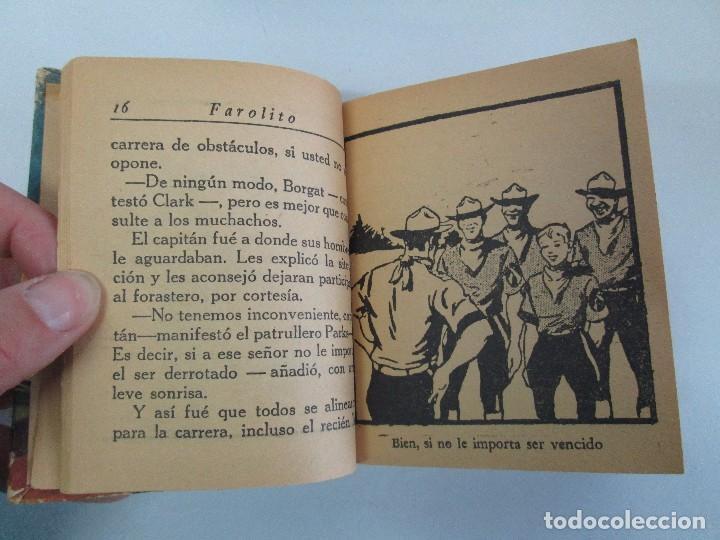 Tebeos: 8 PEQUEÑOS GRANDES LIBROS. EDITORIAL ABRIL. MANDRAKE, BUCK ROGERS, SATURNO, AMAZONA, FAROLITO.... - Foto 45 - 104629415