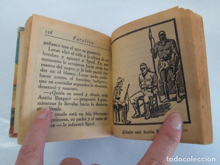 Tebeos: 8 PEQUEÑOS GRANDES LIBROS. EDITORIAL ABRIL. MANDRAKE, BUCK ROGERS, SATURNO, AMAZONA, FAROLITO.... - Foto 46 - 104629415
