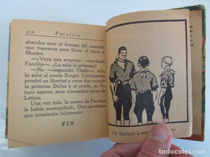 Tebeos: 8 PEQUEÑOS GRANDES LIBROS. EDITORIAL ABRIL. MANDRAKE, BUCK ROGERS, SATURNO, AMAZONA, FAROLITO.... - Foto 47 - 104629415