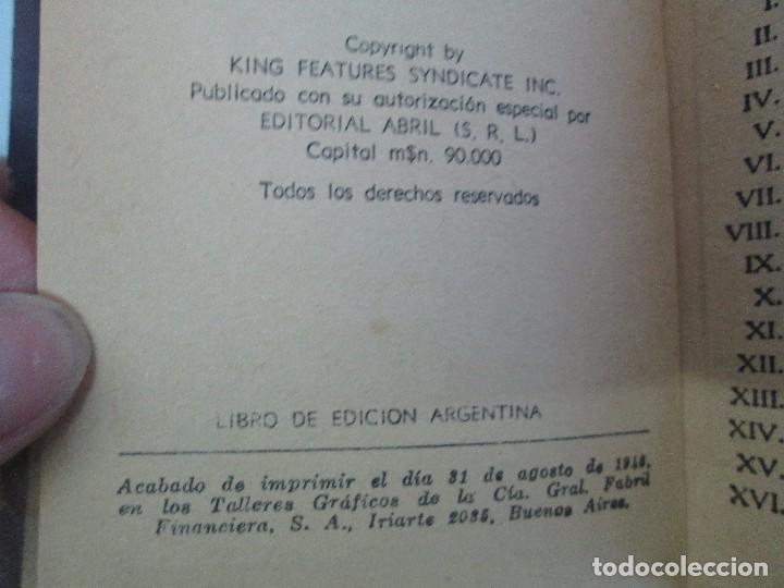 Tebeos: 8 PEQUEÑOS GRANDES LIBROS. EDITORIAL ABRIL. MANDRAKE, BUCK ROGERS, SATURNO, AMAZONA, FAROLITO.... - Foto 52 - 104629415