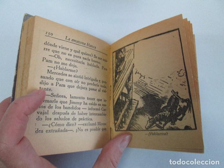 Tebeos: 8 PEQUEÑOS GRANDES LIBROS. EDITORIAL ABRIL. MANDRAKE, BUCK ROGERS, SATURNO, AMAZONA, FAROLITO.... - Foto 56 - 104629415