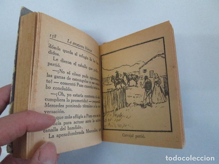Tebeos: 8 PEQUEÑOS GRANDES LIBROS. EDITORIAL ABRIL. MANDRAKE, BUCK ROGERS, SATURNO, AMAZONA, FAROLITO.... - Foto 57 - 104629415