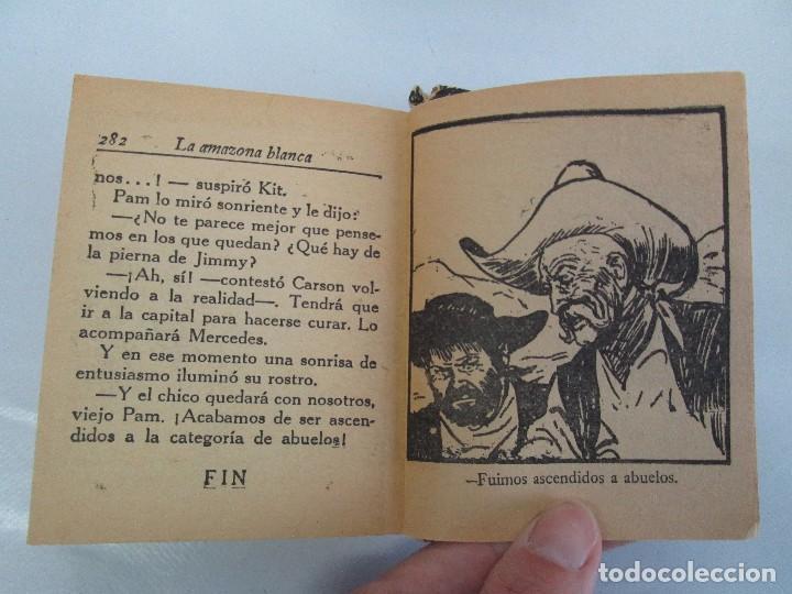Tebeos: 8 PEQUEÑOS GRANDES LIBROS. EDITORIAL ABRIL. MANDRAKE, BUCK ROGERS, SATURNO, AMAZONA, FAROLITO.... - Foto 58 - 104629415