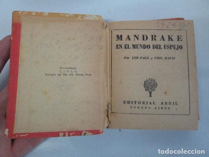 Tebeos: 8 PEQUEÑOS GRANDES LIBROS. EDITORIAL ABRIL. MANDRAKE, BUCK ROGERS, SATURNO, AMAZONA, FAROLITO.... - Foto 60 - 104629415